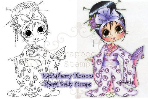 My -Besties Digi Stamp Cherry Blossm-