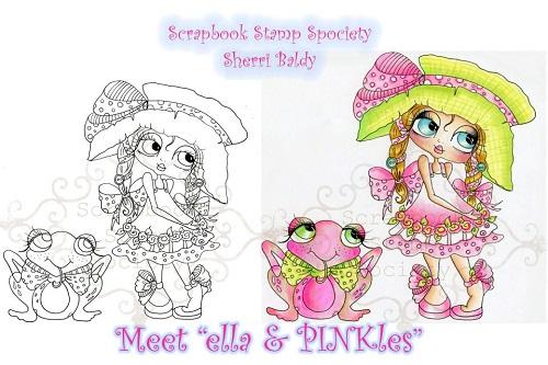 My -Besties Digi Stamp  Ella & PINKles-