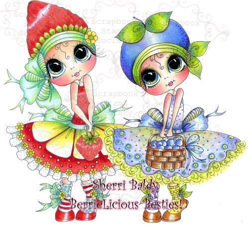 My-Besties Berrielicious Besties Sisters-