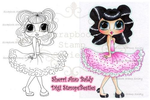 My-Besties digi stamp Betty Loo-My Besties, Digi stamps