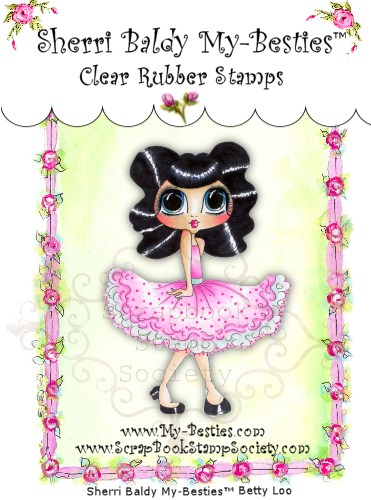 Clear Rubber Stamps  Betty Loo-