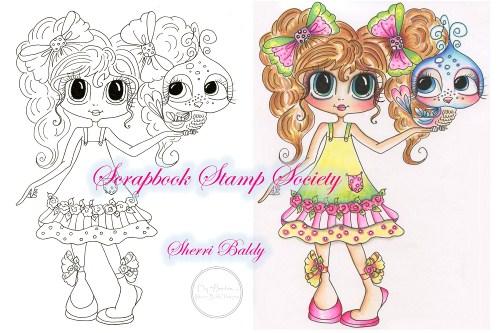 My-Besties Digi Stamp Tiffany & Squeek-