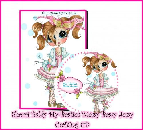 """Sherri Baldy """"Messy BessyMy-Besties CD-"""