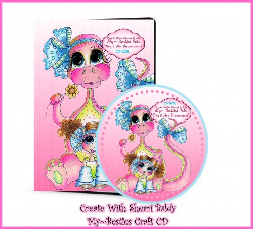 CD ROM Create With Sherri Baldy Tiny n Her Supersaurus-