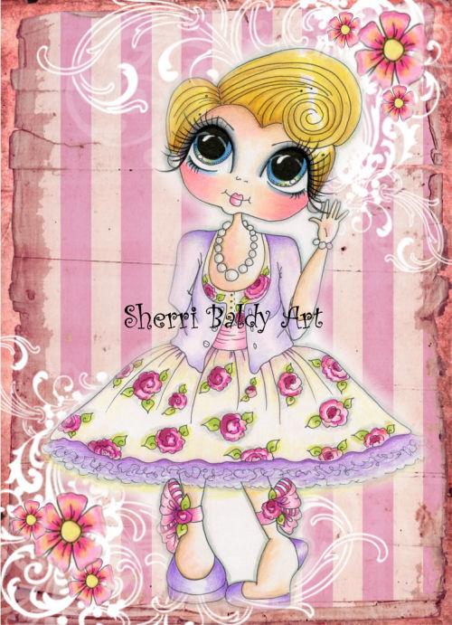 My-Besties Carley Fine Art Print-