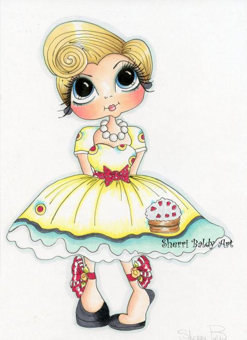 My-Besties Carley Color Fine Art Print-