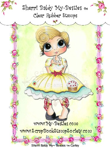 Clear Rubber Stamps Carley My-Besties-