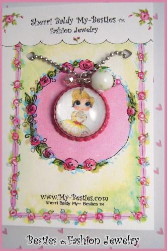 """Carley"" My -Bestie Bling Necklace-"
