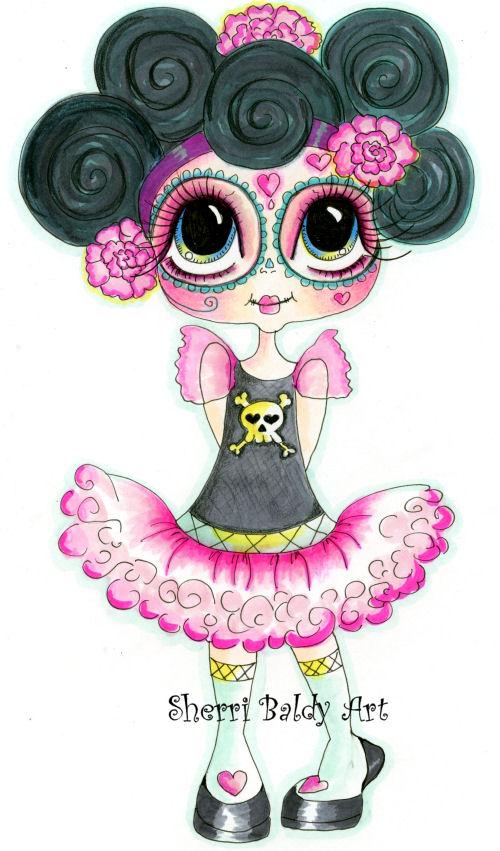 My-Besties Dippity Doo Fine Art Print-