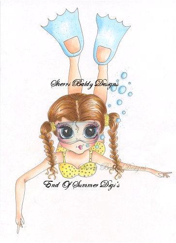 My-Besties End Of Summer Nellies Swim Day Fine Art Print-