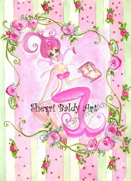 Pink Mermaid Tails-
