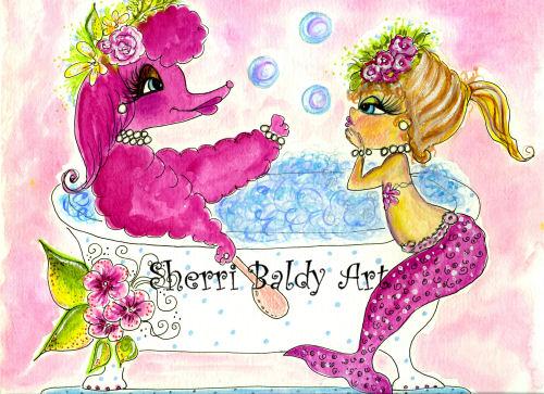 Fifi and The Mermaid-