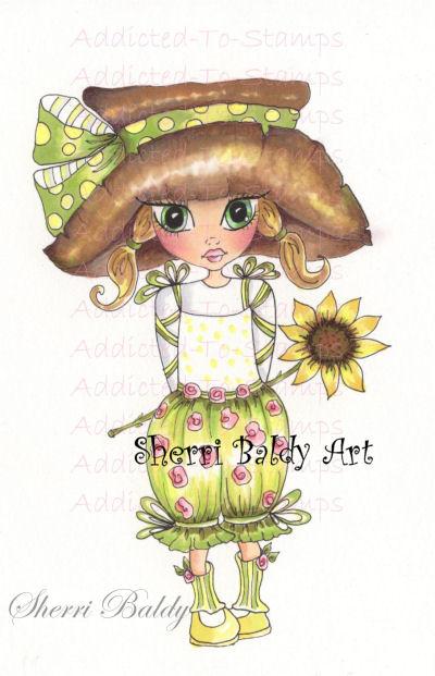 My-Besties Garden Nellie Fine Art Print-