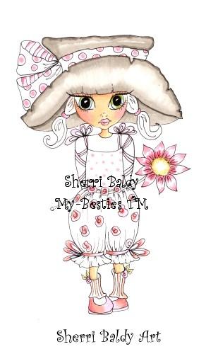 My-Besties Lil Daisy Garden Dollies Sherri Baldy Fine Art Print-
