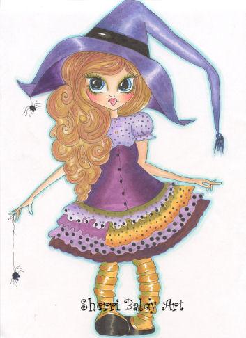My-Besties Lil Ragamuffin Hannah Fine Art Print-