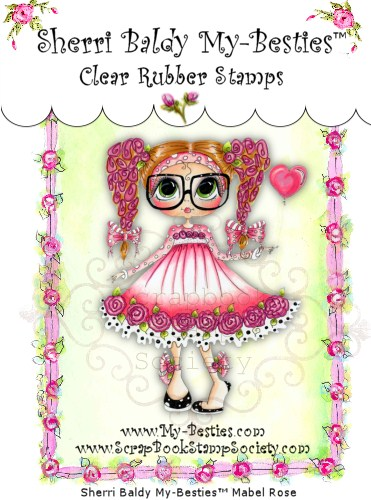 Clear Rubber Stamps Mable Rose My-Besties-