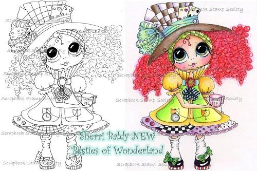 My-Besties digi stamp Maddie Hatter-My Besties, digi stamps