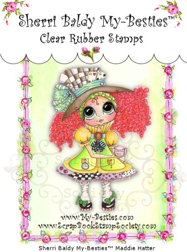 Clear Rubber Stamps Maddie Hatter My-Besties-