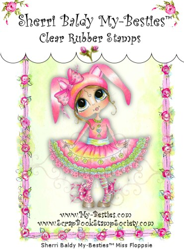 Clear Rubber Stamps Miss Floppsie My-Besties-