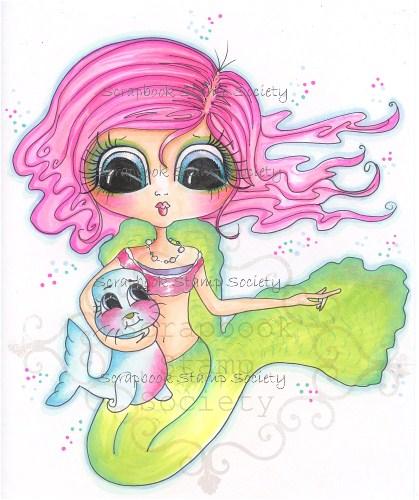 My- Besties Penelope and Pug Fine Art Print-