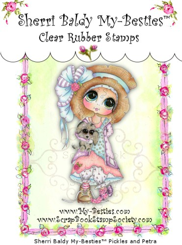 Clear Rubber Stamps   Pickles & Petra My -Besties-