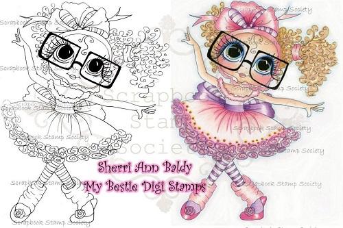 My-Besties digi stamp Polly-My Besties, digi stamps