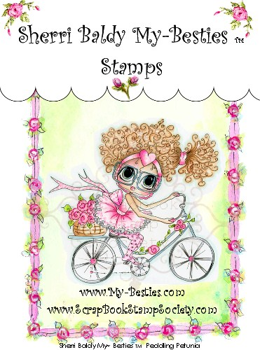 Clear Rubber Stamps Peddling Petunia My-Besties-