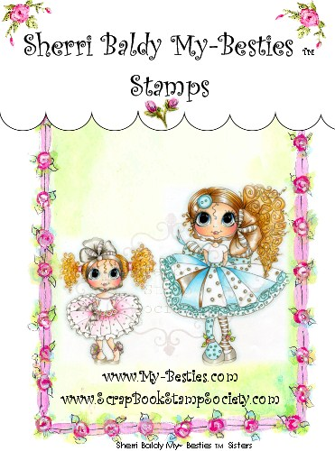 Clear Rubber Stamps Sisters My-Besties-