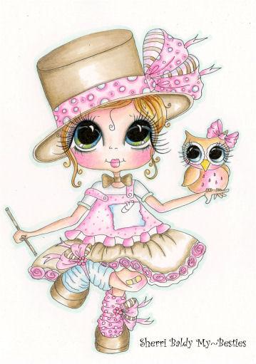 My-Besties Top Hat Magic Fine Art Print-