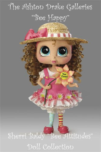 Sherri Baldy My-Besties Bee Attitudes Child Doll Collection-