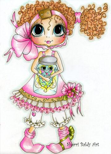 My-Besties Starla and Twinkle Bug Fine Art Print-