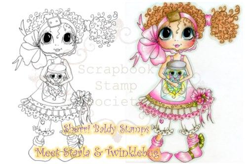 My-Besties digi stamp Starla and Twinklebug-My Besties, digi stamps, summer