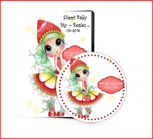 "Sherri Baldy ""Strawberry Girl In The Garden My-Besties CD-"