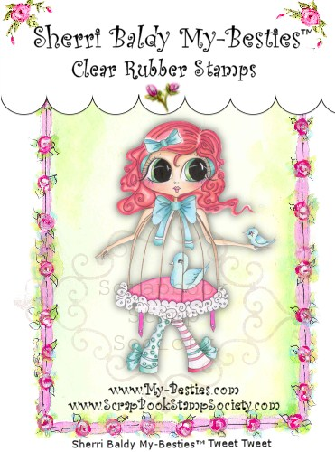 Clear Rubber Stamps Tweet Tweet  My-Besties-