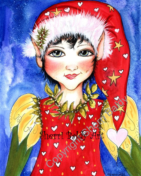Christmas Pixie Freckle-