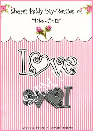 MYB-DIES1007 Paper Lace Dies  LOVE-