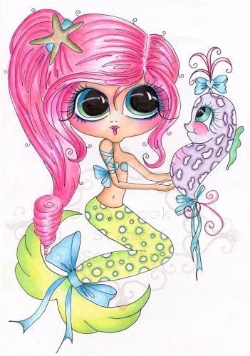Pinky & Lavender Fine Art Print-