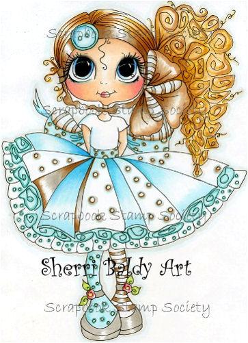 My-Besties Curley Jean Fine Art Print-