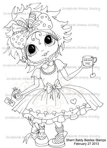 My Bestie digi stamp Adorable Alice-my besties, digi stamp