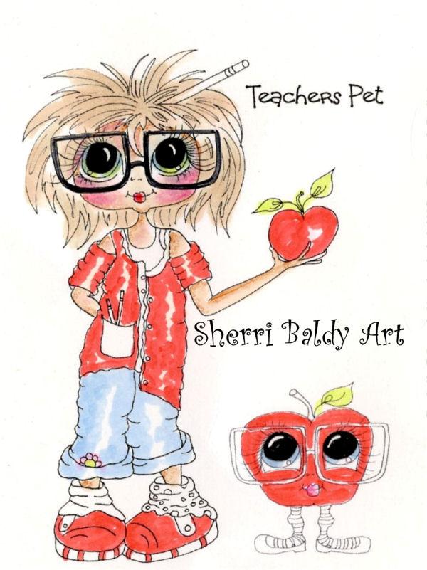My-Besties Teachers Pet Fine Art Print-