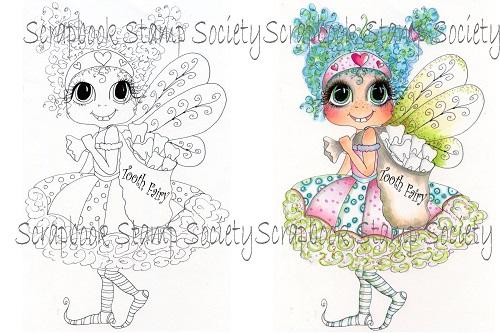 My Bestie digi stamp Lil Tooth Fairy-my besties, digi stamps, fairy