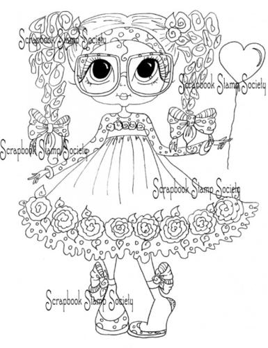 My Bestie digi stamp Mabel Rose-my besties, digi stamps