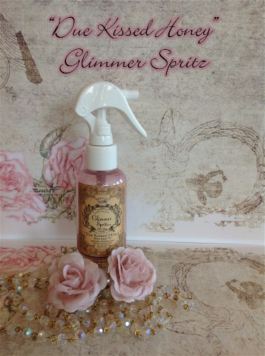 "Glimmer Spritz ""Due Kissed Honey""-"