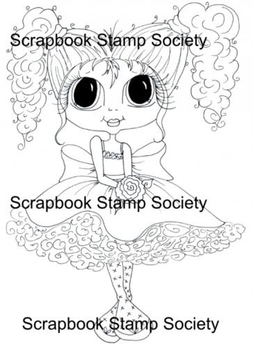 My Bestie digi stamp Pigtail Polly-my besties, digi stamp