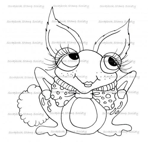 My Besties digi stamp Pinkle the frog Bunny Hop-my besties, digi stamps