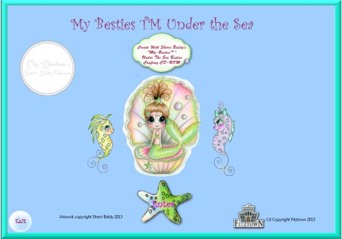 "Sherri Baldy ""Under The Sea My-Besties CD-"