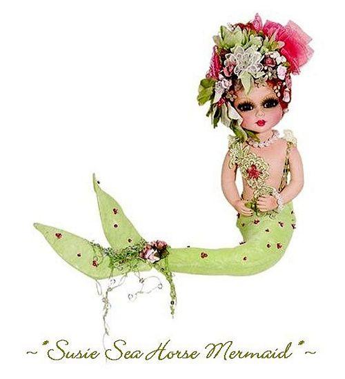 My -Bestie Susie Sea Horse Porcelain Doll-