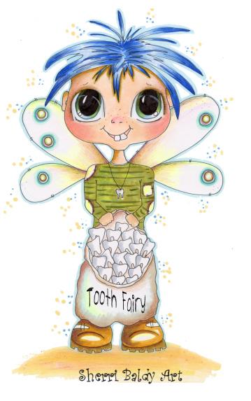 My-Besties Tooth Fairy Fine Art Print-