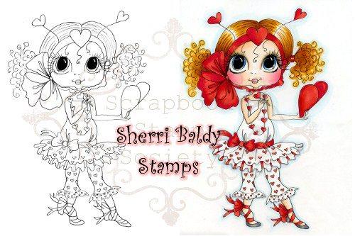 My-Besties digi stamp Valentina-My Besties, digi stamps, Valentine's day, love
